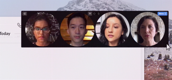 Around is the new floating head video chat multitasking app