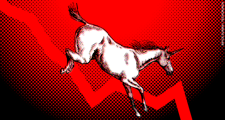 As Uber and Lyft continue to melt, the 2019 unicorn class loses its shine