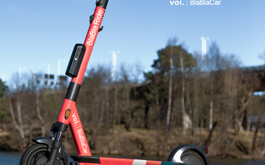 BlaBlaCar partners with scooter startup Voi to release brand-new BlaBla Ride app