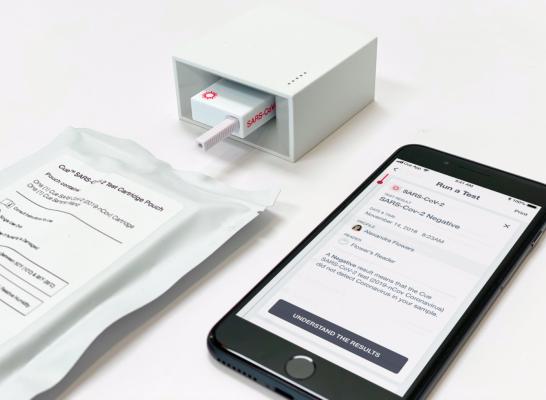 Cue Health raises $100 million to speed development of fast, portable COVID-19 diagnostics