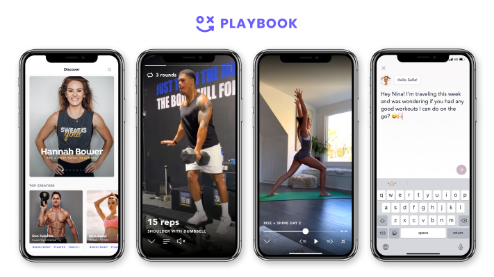 Playbook, a creator platform concentrated on fitness, raises $3 million in seed