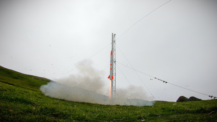 <aRocket start-up Skyrora accomplishes a successful sub-orbital launch from Scottish island