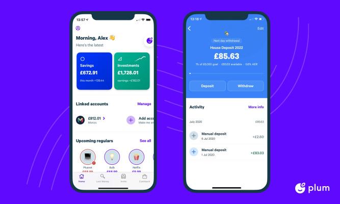 Plum raises $10M for its 'smart' money management app