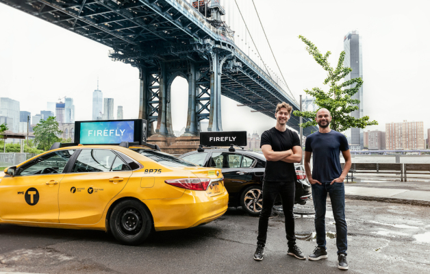 Rideshare and taxi ad startup Firefly acquires Strong Outdoor's out-of-home ad service