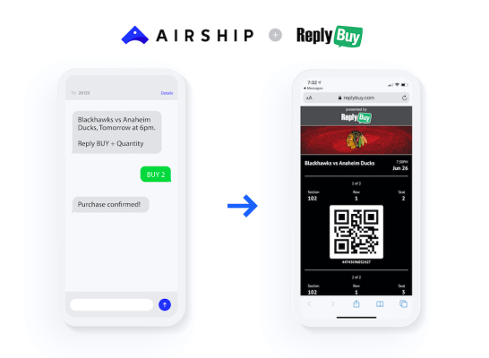 Airship gets SMS commerce company ReplyBuy