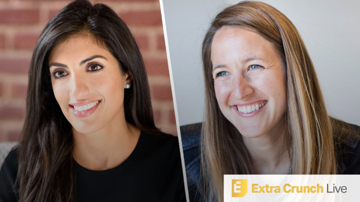 Extra Crunch Live: Join us today at 2pm EDT/ 11am PDT to go over the future of startup investing with Index Ventures VCs Nina Achadjian and Sarah Cannon
