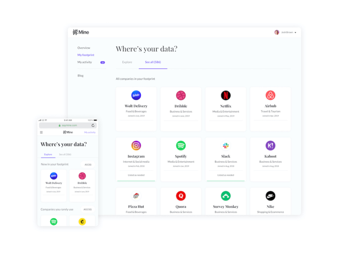 Mine raises $9.5 M to assist people take control of their individual information