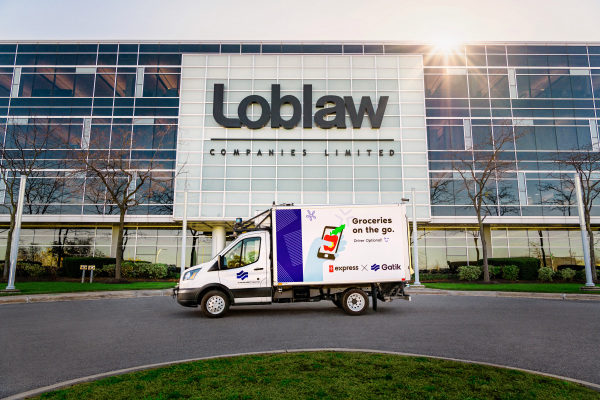 Gatik's self-driving box trucks to shuttle bus groceries for Loblaw in Canada