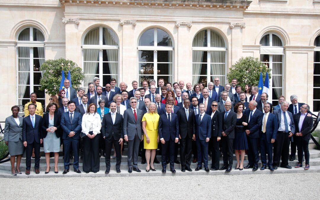Lots of tech companies sign 'Tech for Good Call' following French effort