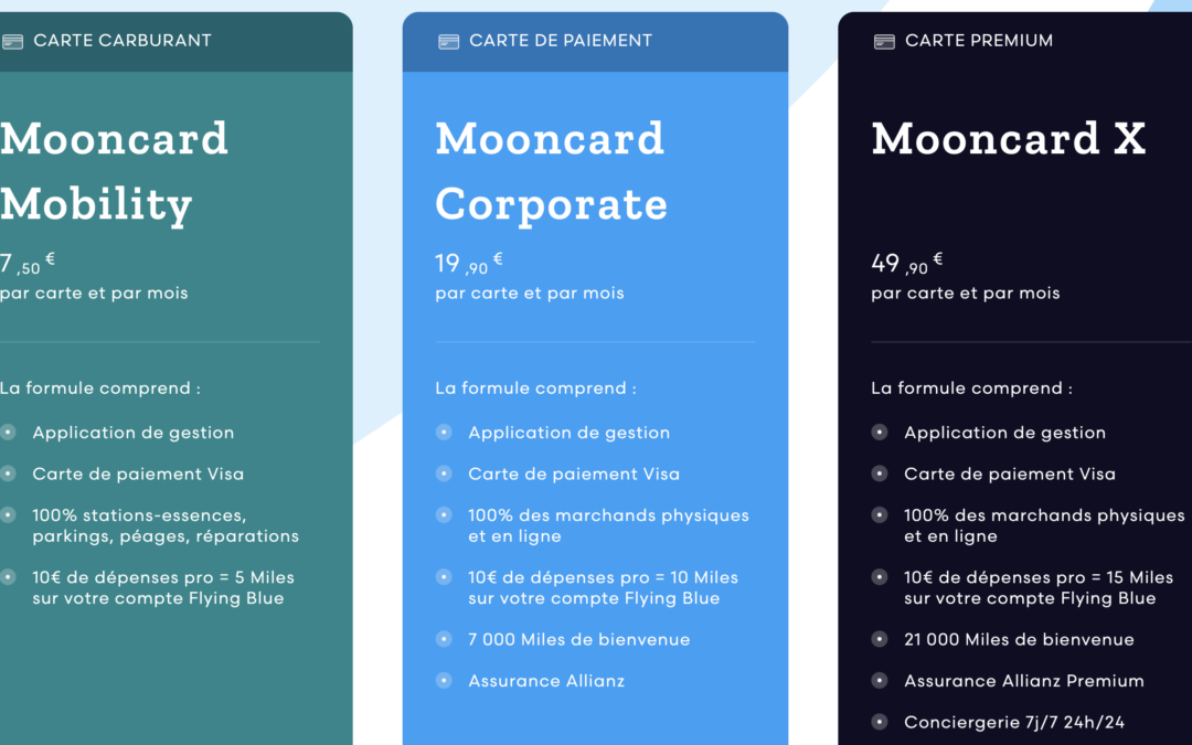 Business card startup Mooncard challenges American Express in France with miles
