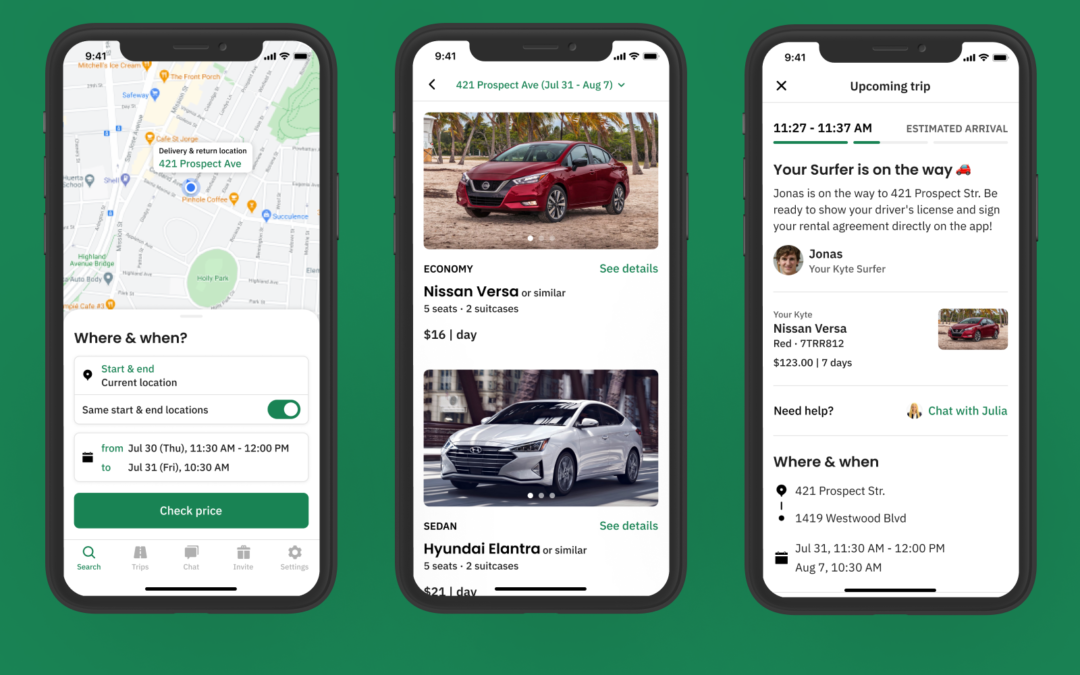 Kyte raises $9 million to deliver rental vehicles to your doorstep