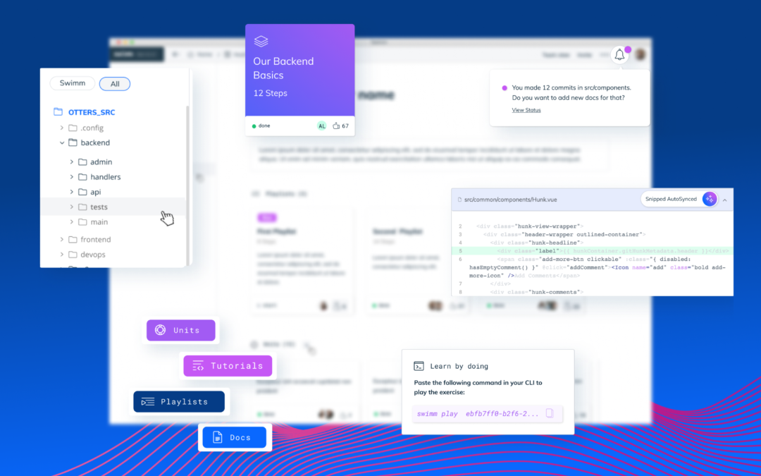 Swimm raises $5.7 M to assist groups document their code
