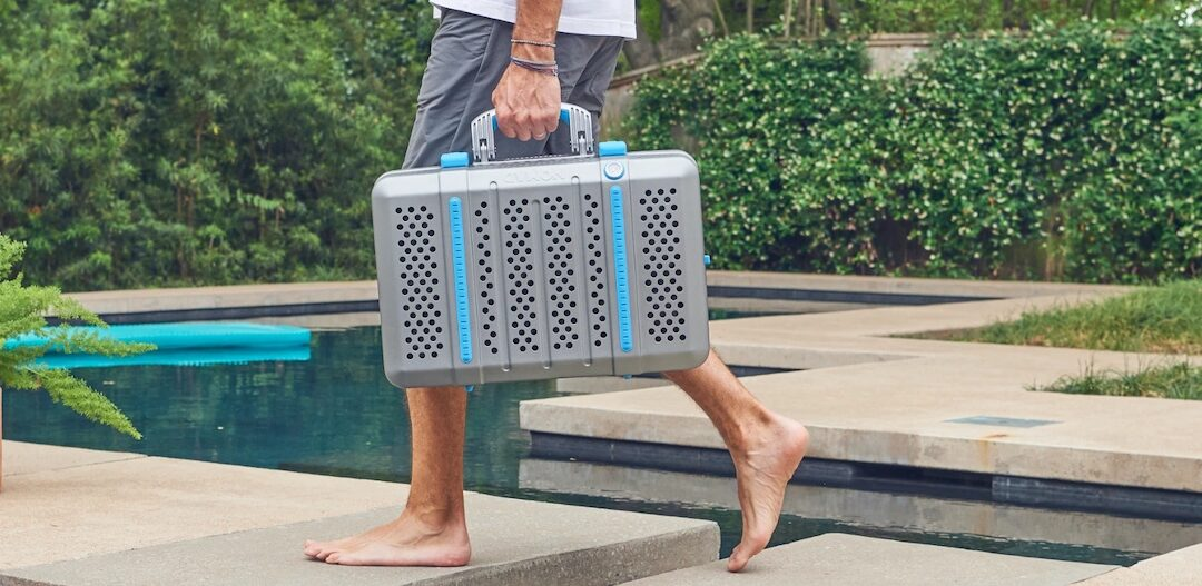 Wanderer's charcoal grill suitcase is modern-day ingenuity combined with timeless cooking