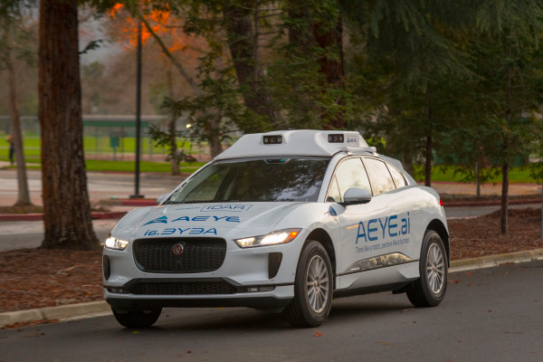 AEye becomes latest lidar company to go public by means of SPAC