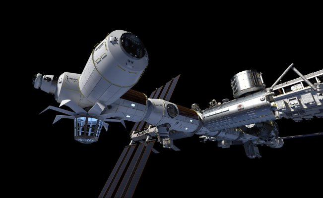 Axiom Area raises $130 million for its business spaceport station aspirations
