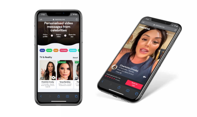 Celeb video platform Memmo raises $10M