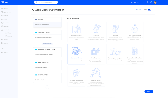 Torii reveals $10M Series A to automate SaaS management