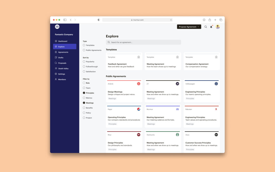 Murmur, still in private beta, wants to help start-ups make personal work agreements public