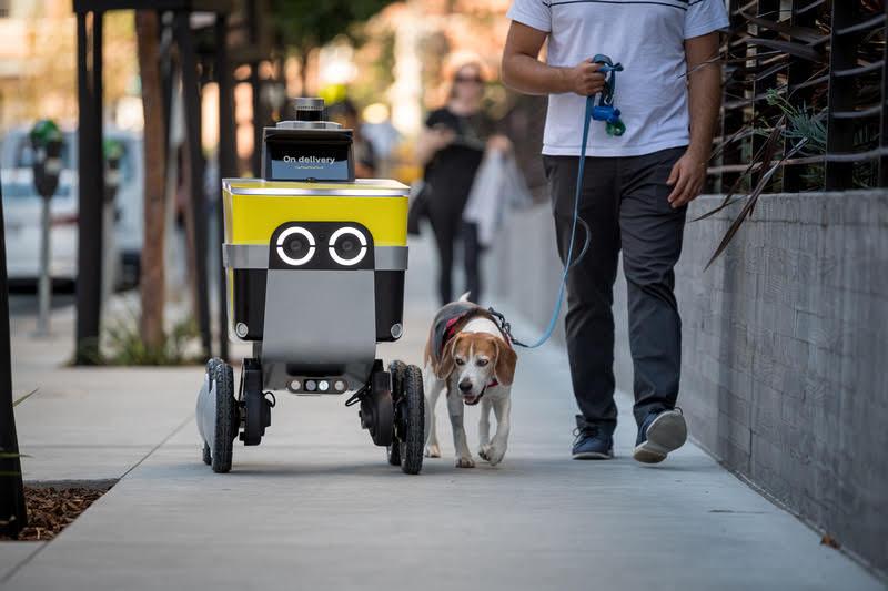 Uber spins out delivery robotic start-up as Serve Robotics