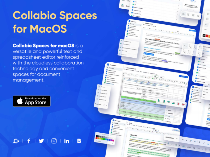 Collabio lets you co-edit files without the cloud