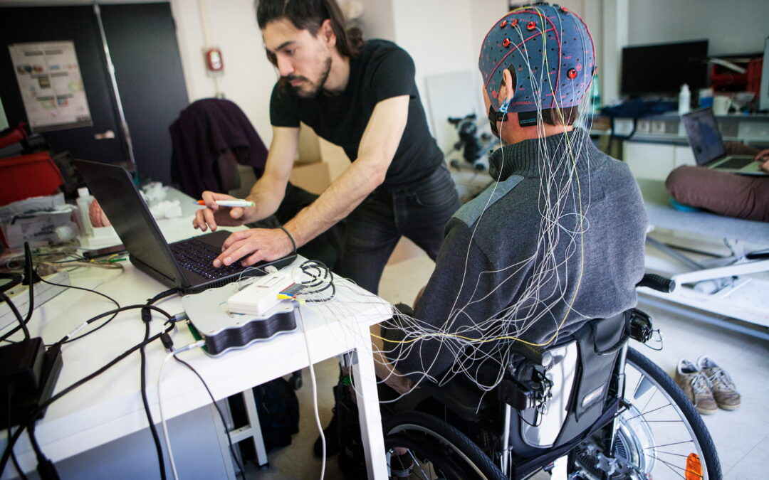 Cognixion's brain-monitoring headset allows fluid communication for individuals with severe impairments