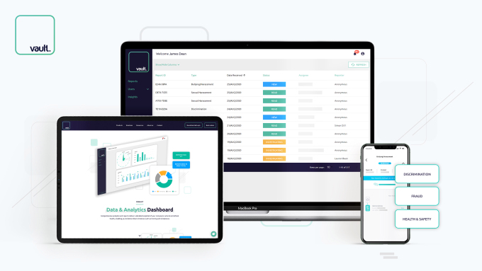 Google's Gradient Ventures leads $8.2 M Series A for Vault Platform's misconduct reporting SaaS