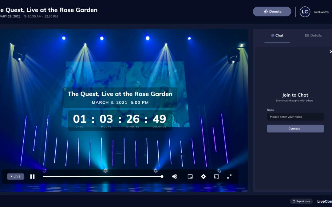 LiveControl raises $30M to help venues livestream events