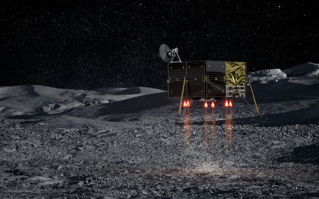 Masten Area Systems to develop a GPS-like network for the moon