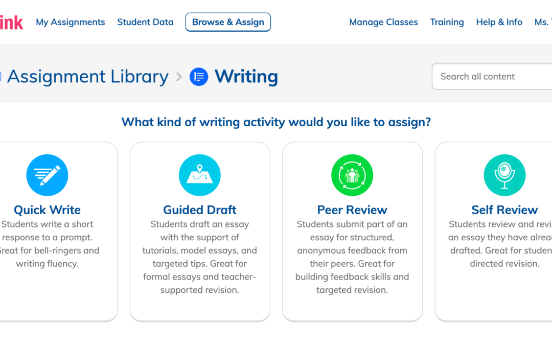 NoRedInk raises $50 million Series B to help trainees become better authors