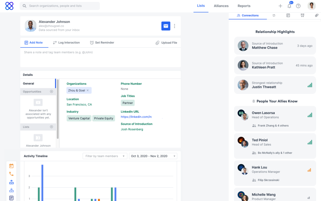 Affinity, a relationship intelligence company, raises $80M to assist close deals