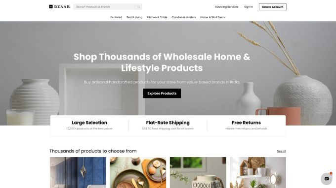 Bzaar bags $4M to allow United States merchants to source home, way of life items from India