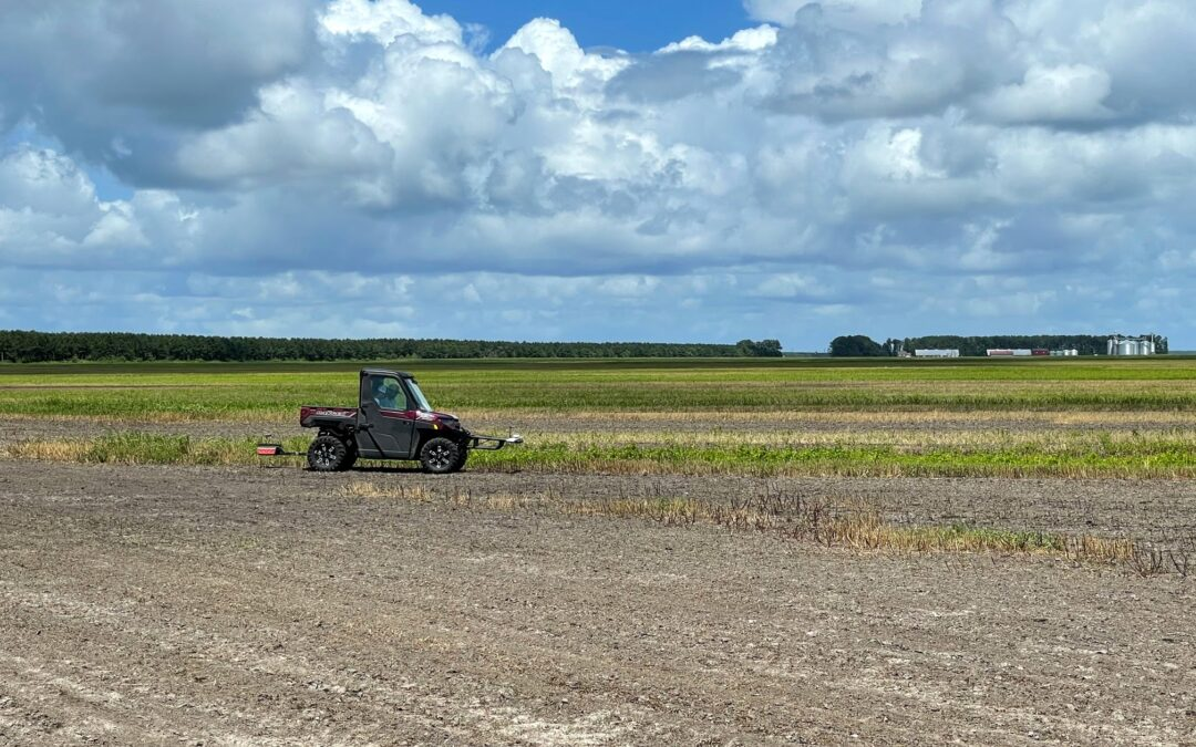 EarthOptics assists farmers look deep into the soil for big information insights