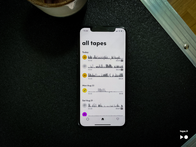 Tape It introduces an A.I.-powered music recording app for iPhone